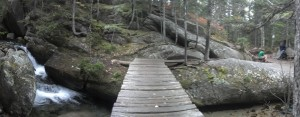 Bridge over the Katahdin Stream