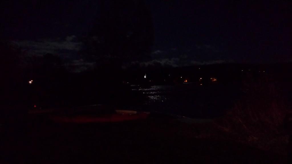 Rangeley Lake a noche